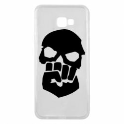 Чехол для Samsung J4 Plus 2018 Skull and Fist