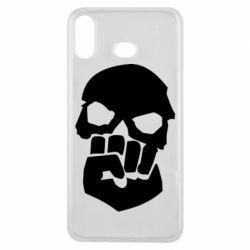 Чехол для Samsung A6s Skull and Fist