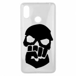 Чехол для Xiaomi Mi Max 3 Skull and Fist