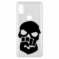 Чехол для Xiaomi Mi Mix 3 Skull and Fist