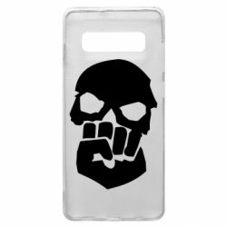 Чехол для Samsung S10+ Skull and Fist
