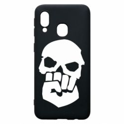 Чехол для Samsung A40 Skull and Fist