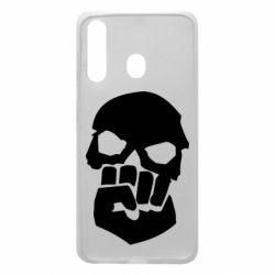 Чехол для Samsung A60 Skull and Fist
