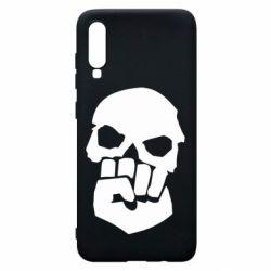 Чехол для Samsung A70 Skull and Fist