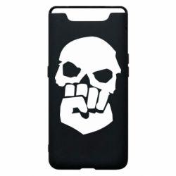 Чехол для Samsung A80 Skull and Fist