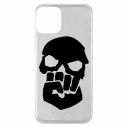 Чехол для iPhone 11 Skull and Fist