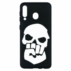 Чехол для Samsung M30 Skull and Fist