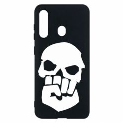 Чехол для Samsung M40 Skull and Fist