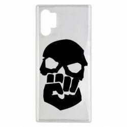 Чехол для Samsung Note 10 Plus Skull and Fist