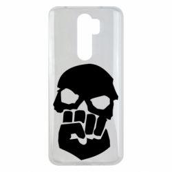 Чехол для Xiaomi Redmi Note 8 Pro Skull and Fist