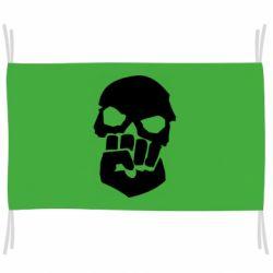 Флаг Skull and Fist