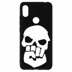 Чехол для Xiaomi Redmi S2 Skull and Fist