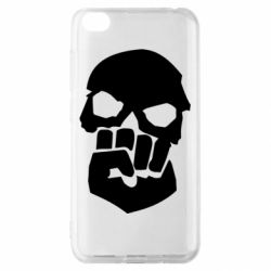 Чехол для Xiaomi Redmi Go Skull and Fist
