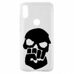 Чехол для Xiaomi Mi Play Skull and Fist