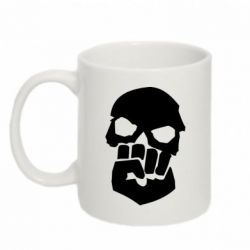 Кружка 320ml Skull and Fist