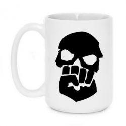 Кружка 420ml Skull and Fist