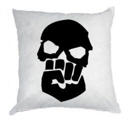 Подушка Skull and Fist