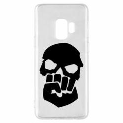 Чехол для Samsung S9 Skull and Fist