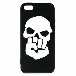 Чехол для iPhone5/5S/SE Skull and Fist