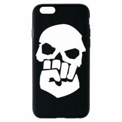 Чехол для iPhone 6/6S Skull and Fist