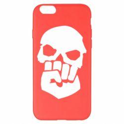 Чехол для iPhone 6 Plus/6S Plus Skull and Fist
