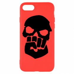 Чехол для iPhone 7 Skull and Fist
