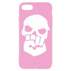 Чехол для iPhone 8 Skull and Fist