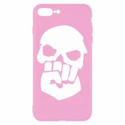 Чехол для iPhone 8 Plus Skull and Fist