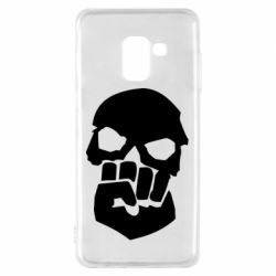 Чехол для Samsung A8 2018 Skull and Fist