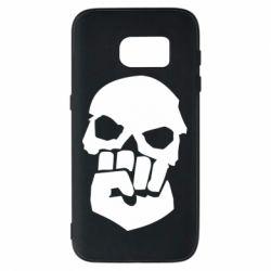 Чехол для Samsung S7 Skull and Fist