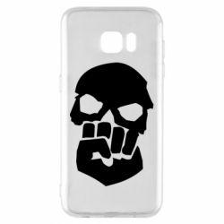 Чехол для Samsung S7 EDGE Skull and Fist