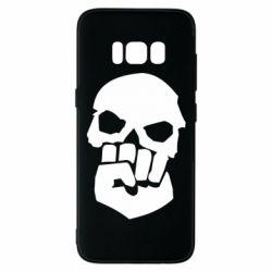 Чехол для Samsung S8 Skull and Fist