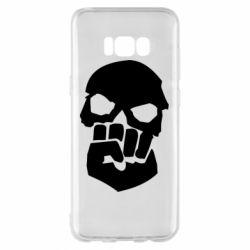Чехол для Samsung S8+ Skull and Fist