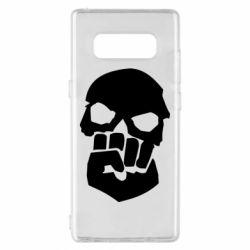 Чехол для Samsung Note 8 Skull and Fist