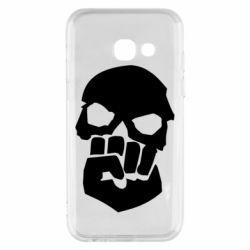 Чехол для Samsung A3 2017 Skull and Fist