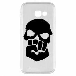 Чехол для Samsung A5 2017 Skull and Fist