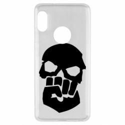 Чехол для Xiaomi Redmi Note 5 Skull and Fist