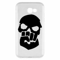 Чехол для Samsung A7 2017 Skull and Fist