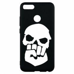 Чехол для Xiaomi Mi A1 Skull and Fist