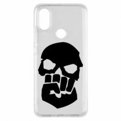 Чехол для Xiaomi Mi A2 Skull and Fist