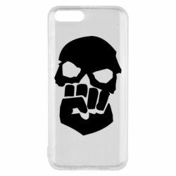 Чехол для Xiaomi Mi6 Skull and Fist