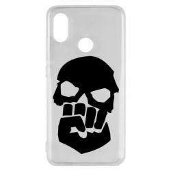 Чехол для Xiaomi Mi8 Skull and Fist
