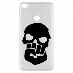 Чехол для Xiaomi Mi Max 2 Skull and Fist