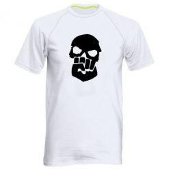 Мужская спортивная футболка Skull and Fist