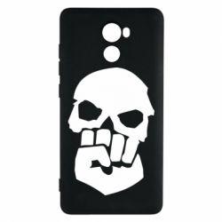 Чехол для Xiaomi Redmi 4 Skull and Fist