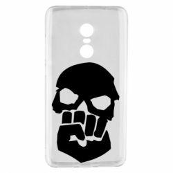 Чехол для Xiaomi Redmi Note 4 Skull and Fist