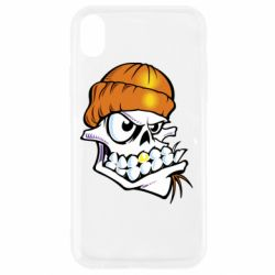 Чохол для iPhone XR Skull and golden tooth