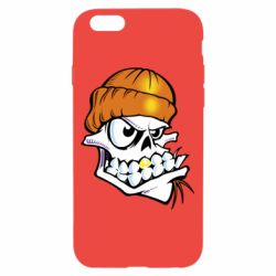 Чохол для iPhone 6/6S Skull and golden tooth