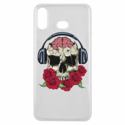 Чохол для Samsung A6s Skull and roses