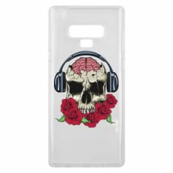 Чохол для Samsung Note 9 Skull and roses